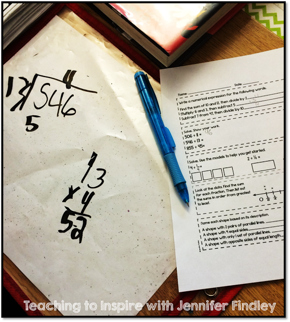 Math WarmUps & Reviews for Common Core