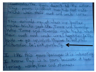 Poetry in Guided Reading and Using Reader's Response to Assess