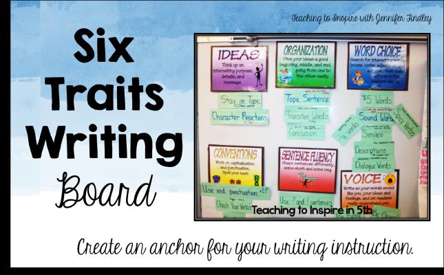Six Traits Writing