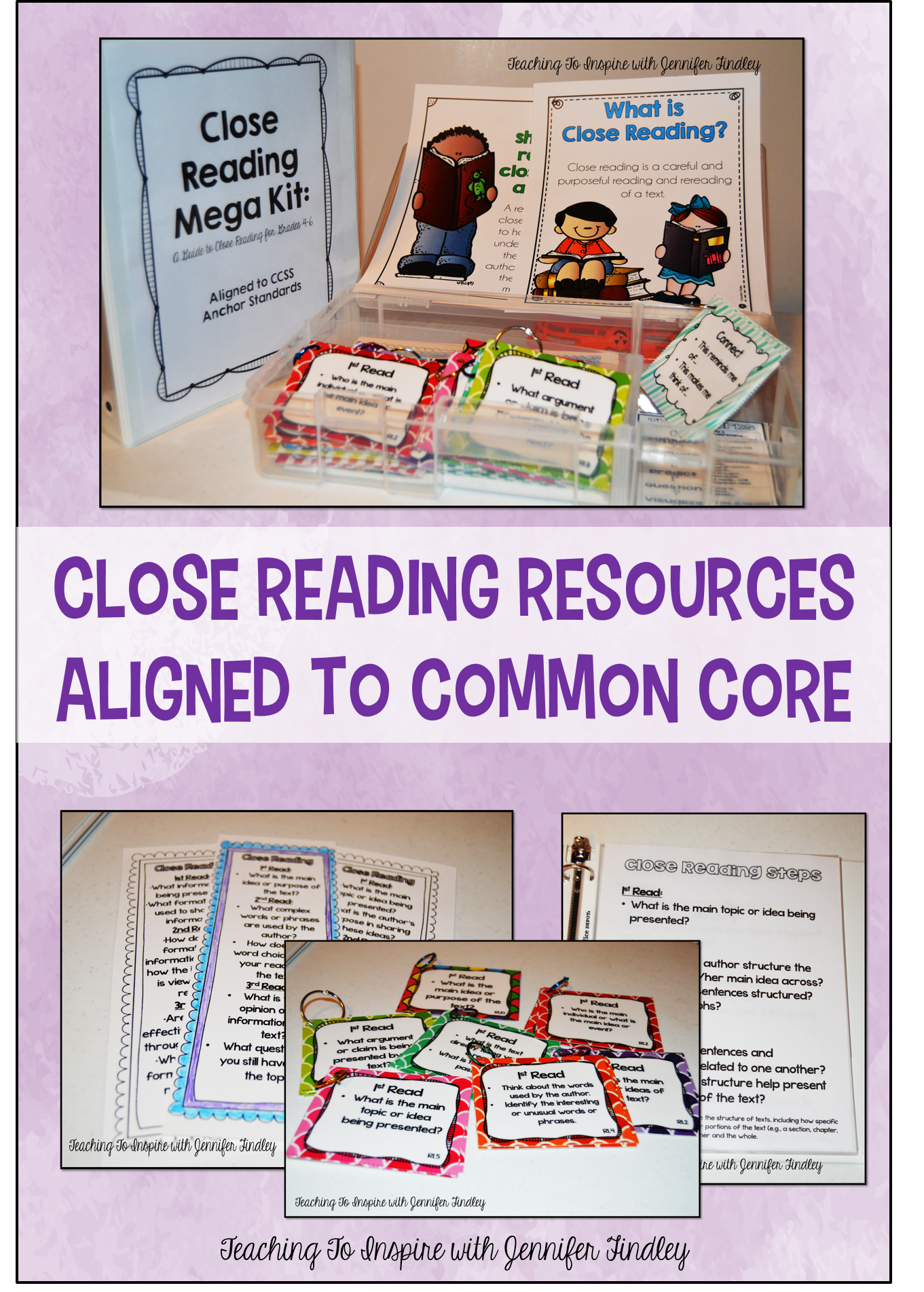 Close Reading Resources for Teachers