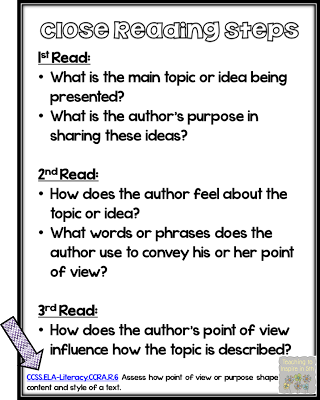 Close Reading Mega Kit!