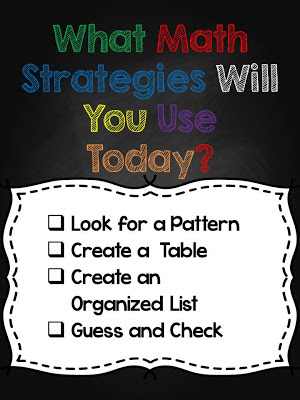 What's Your Math Problem? {Getting Organized Strategies} Chapter 4!