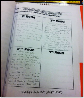 Close Reading Responses