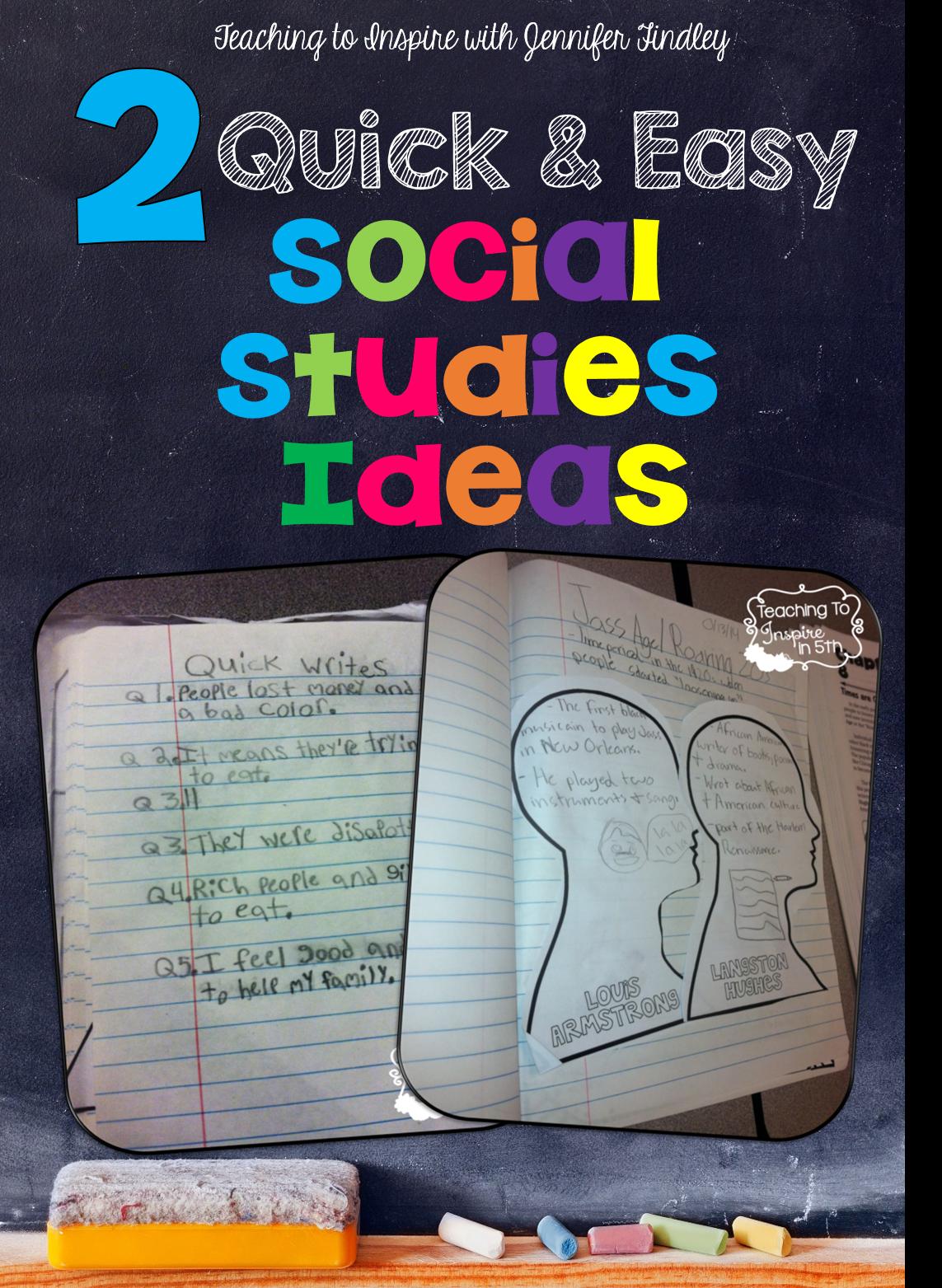 Social Studies Easy Ideas