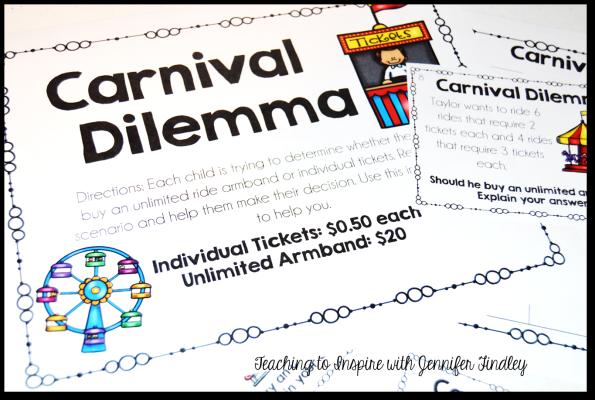 Carnival Math Task