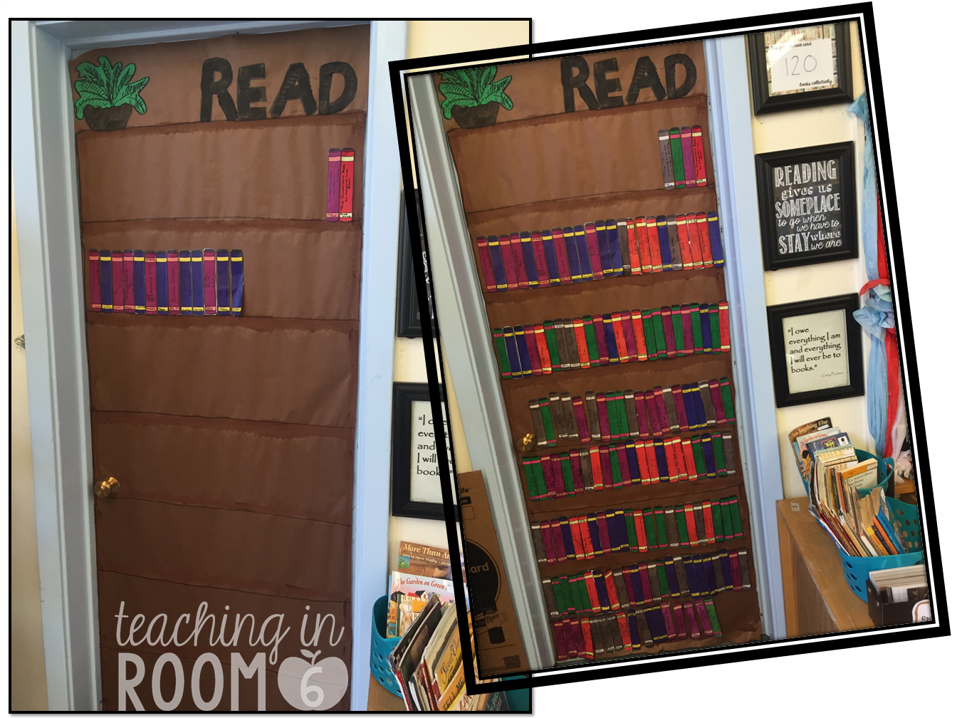 Book Display Door - Ways to Share What Students Are Reading