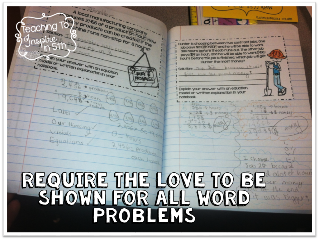 Show the LOVE {Help Your Students Soar with Word Problems}