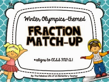 http://www.teacherspayteachers.com/Product/Fraction-Match-Up-FREEBIE-Winter-Olympics-Themed-1033891