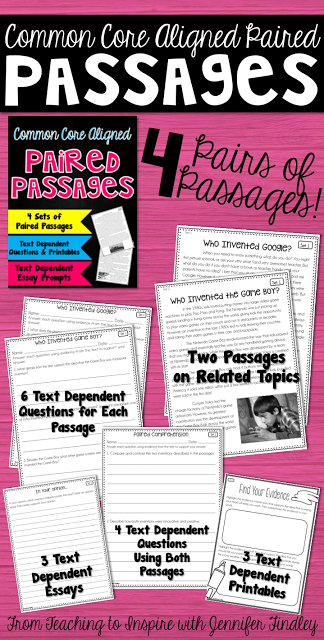https://www.teacherspayteachers.com/Product/Paired-Passages-1817681