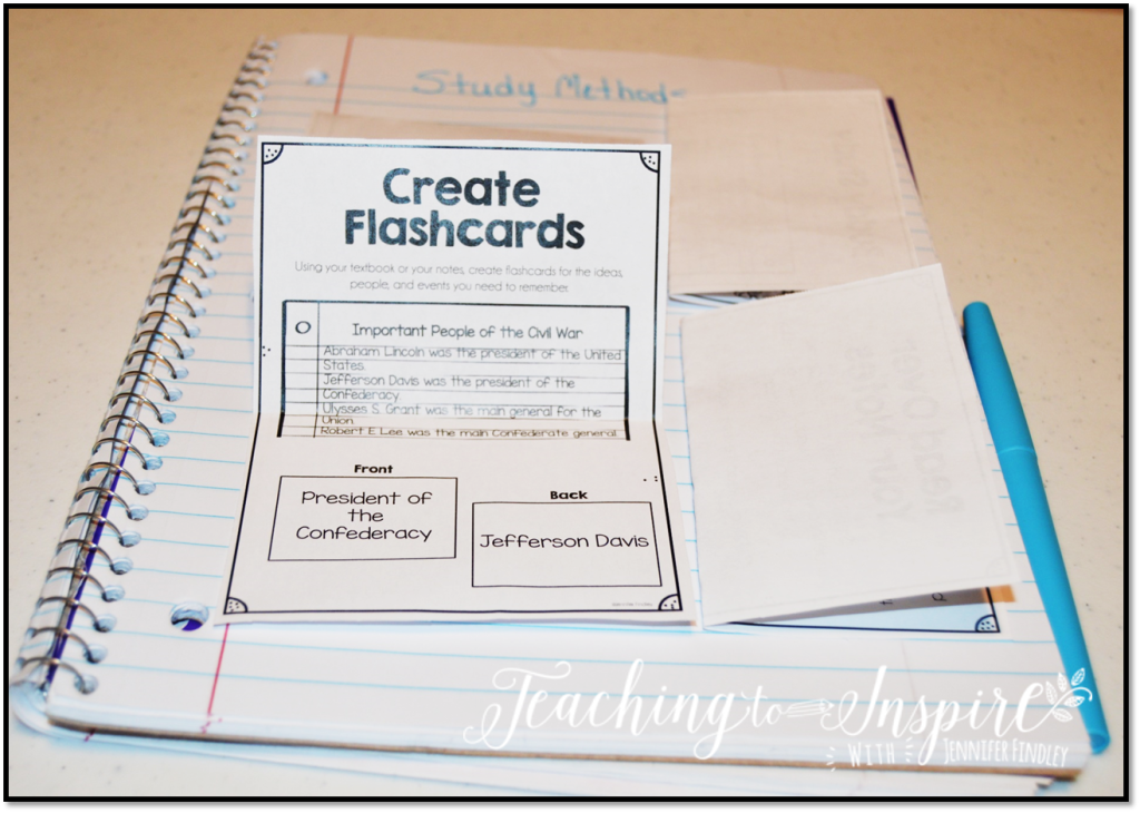 Teach Your Students How to Study {Free Printables}