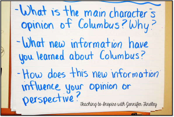 Columbus Day Activity After Reading