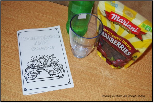 Thanksgiving Science Activities with Cranberries