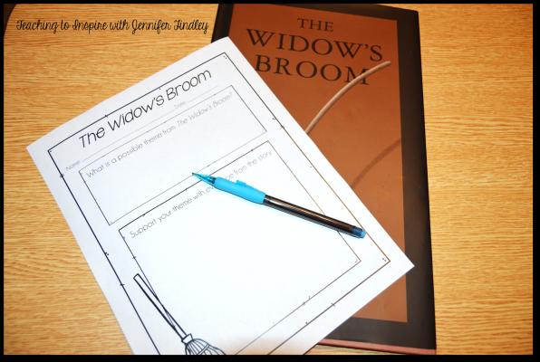 The Widow's Broom Activity