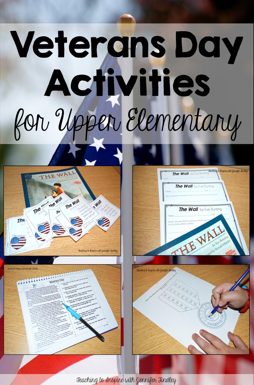 Veterans Day Activities for Upper Elementary Grades