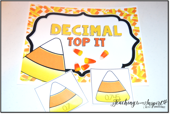 decimal top it