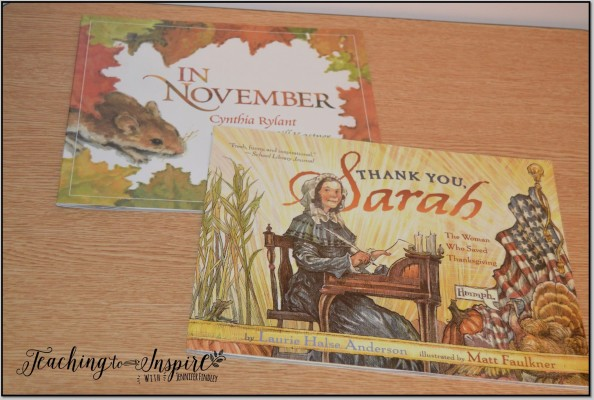 Thanksgiving Read Alouds