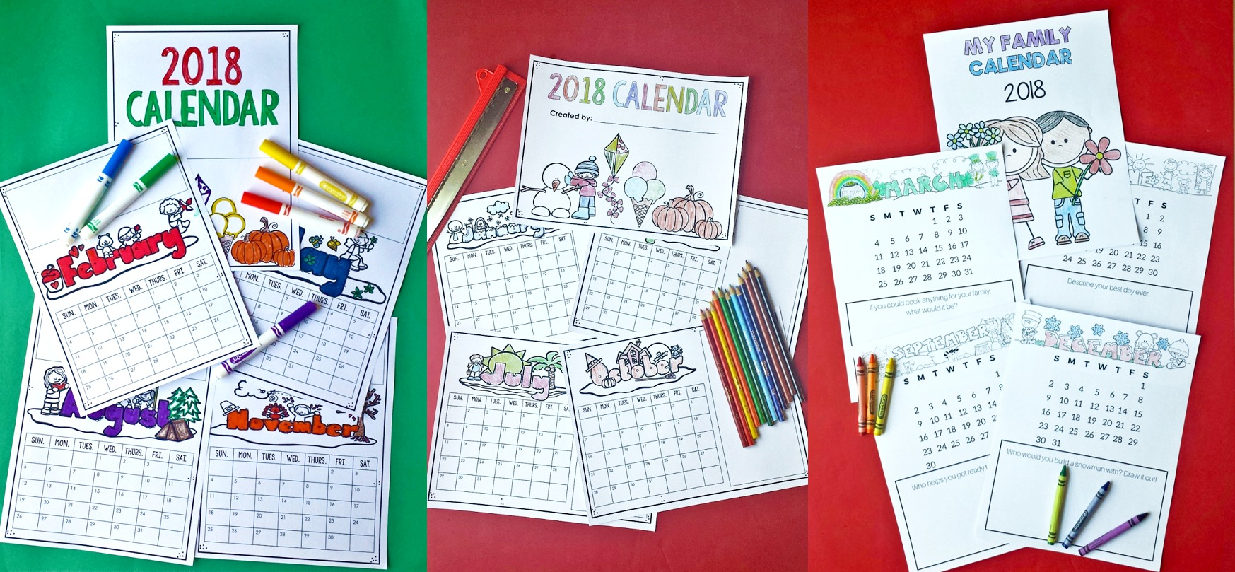 Parent Christmas gift FREEBIE from students. Having your students create gifts for their parents is a great way to teach students the value of giving. Use these FREE calendar templates to create a family calendar as a family gift.