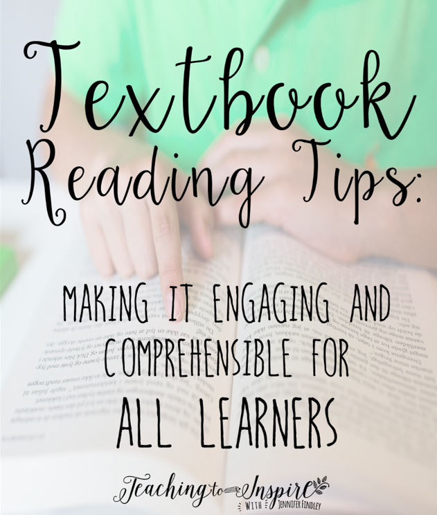 Textbook reading doesn't have to be boring or difficult for students. Read these tips for ideas on how to make it engaging and comprehensible for all your learners.