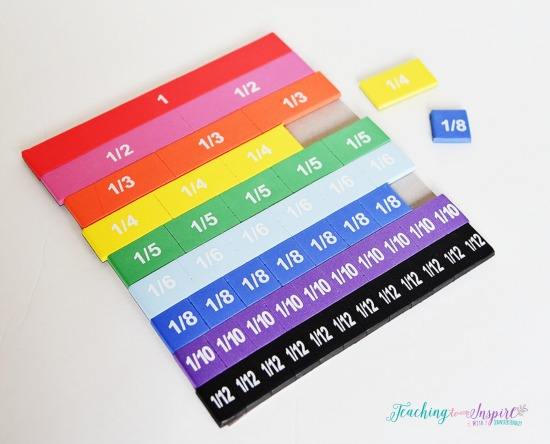 It's just a graphic of Fraction Manipulatives Printable with sixth