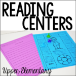 Reading centers for 4th and 5th grade