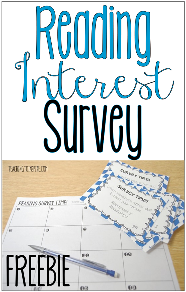 These reading interest survey task card freebies are a great way to get to you know your students as readers. Play SCOOT with these cards or do a gallery walk. Read more and grab the cards on this post.