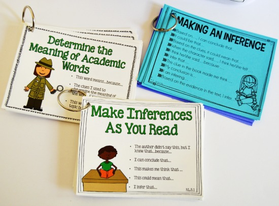 Must-have guided reading materials and supplies for upper elementary grades and how they can be used on this post.