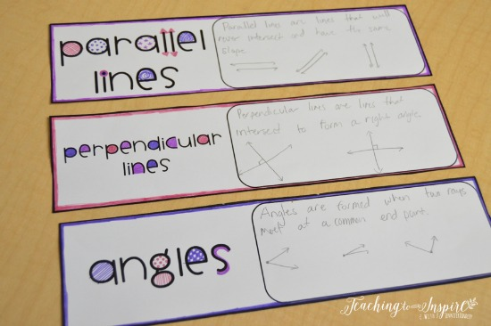 Have your students create the words for your word wall to make it more meaningful. Read more math bulletin board ideas on this post.