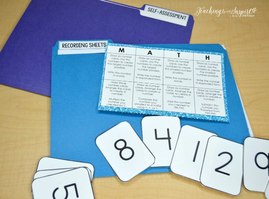 FREE math choice board to help you launch guided math centers