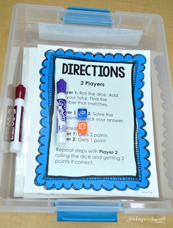 Tips for launching guided math centers and free starter packs on this post.