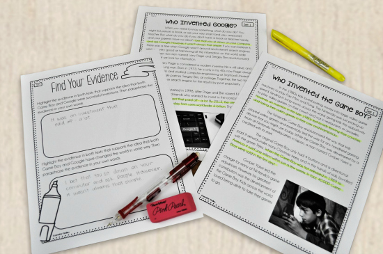 Paired passages are a great alternative for guided reading if you don't have a book room. Read more suggestions on this post.