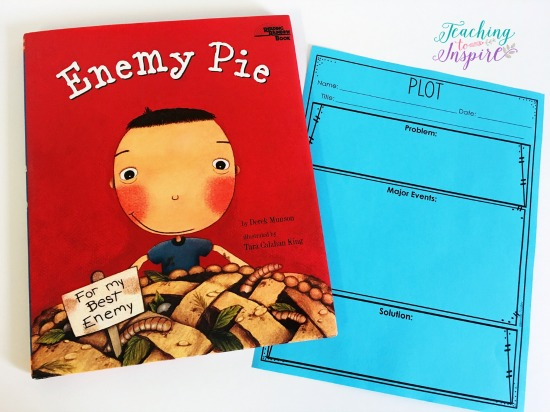 If you are looking for story elements mentor texts or read alouds for teaching story elements, definitely check out this post. The teacher shares 15 read alouds with brief summaries and the specific story element skills each read aloud addresses.