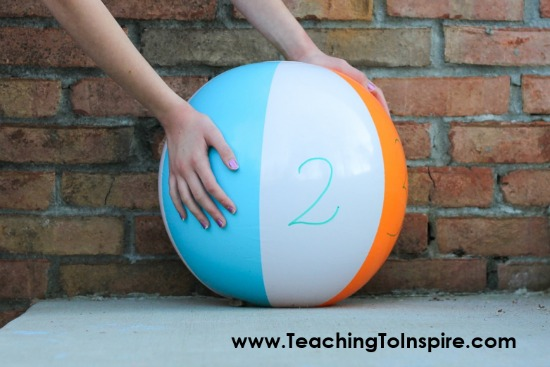 Need new review games and ideas? This post shares five different review games and activities to play with your students using beach balls!