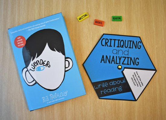 Grab this FREE reader's response wheel to get your students critiquing and analyzing the books they read.