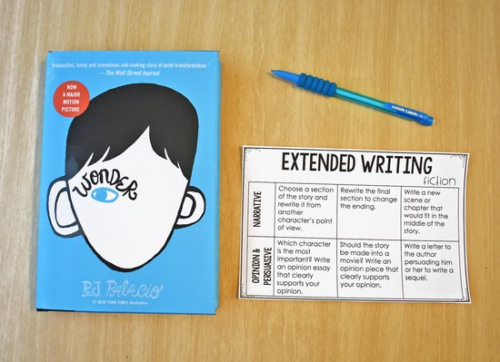 Prepare your students for state assessments throughout the school year with these FREE extended writing prompts that are perfect for a write about reading center.
