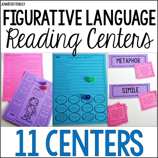 Engage your students with these figurativce language reading centers!