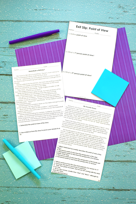 Reading exit slips are a great way to quickly assess your students on reading skills and standards that they are learning. Read more and grab some free ones on this post!