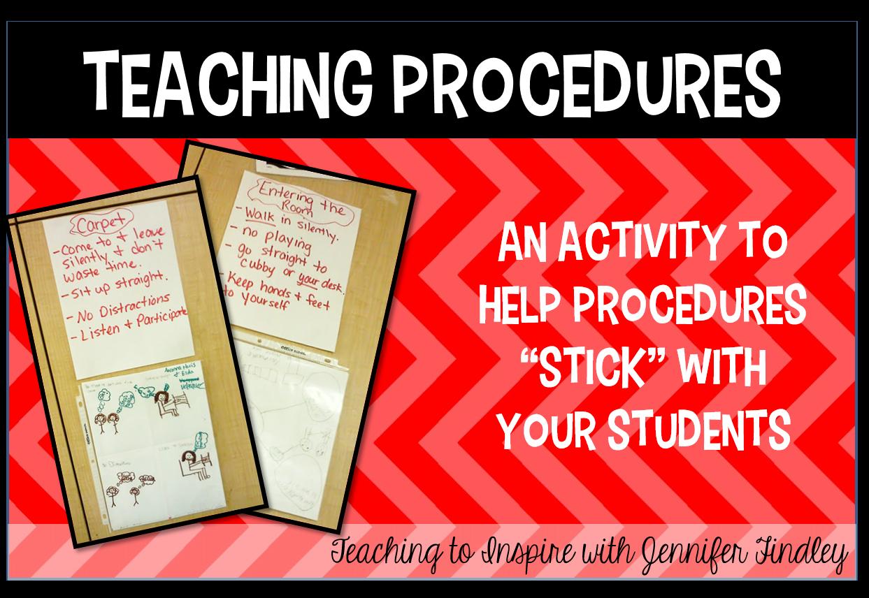 Collaborative Classroom Procedures : Teaching classroom procedures to inspire with