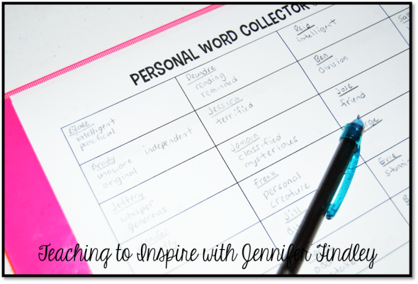 Personal Word Collector Close Up