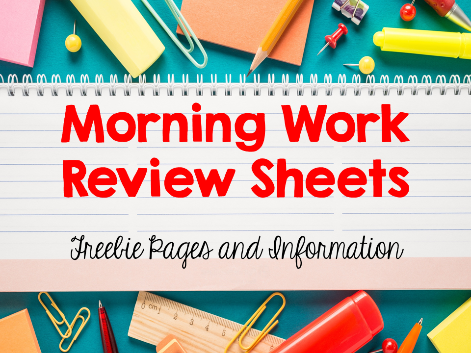 morning work Morning work for second grade i like to give my students my daily practice sheets for morning work while i collect homework and take attendance daily practice for second grade is the perfect way to get your second graders warmed up each and every day.