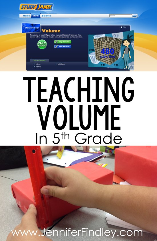 Teaching volume in 5th grade? This post shares tips, strategies, and FREE volume activities focusing on determining the volume of rectangular prisms.