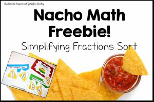 Free Fraction Center {Nacho Math}