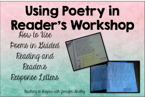 Using Poetry in Reader's Workshop