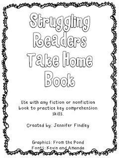 Struggling Readers Take Home Book for Comprehension Practice