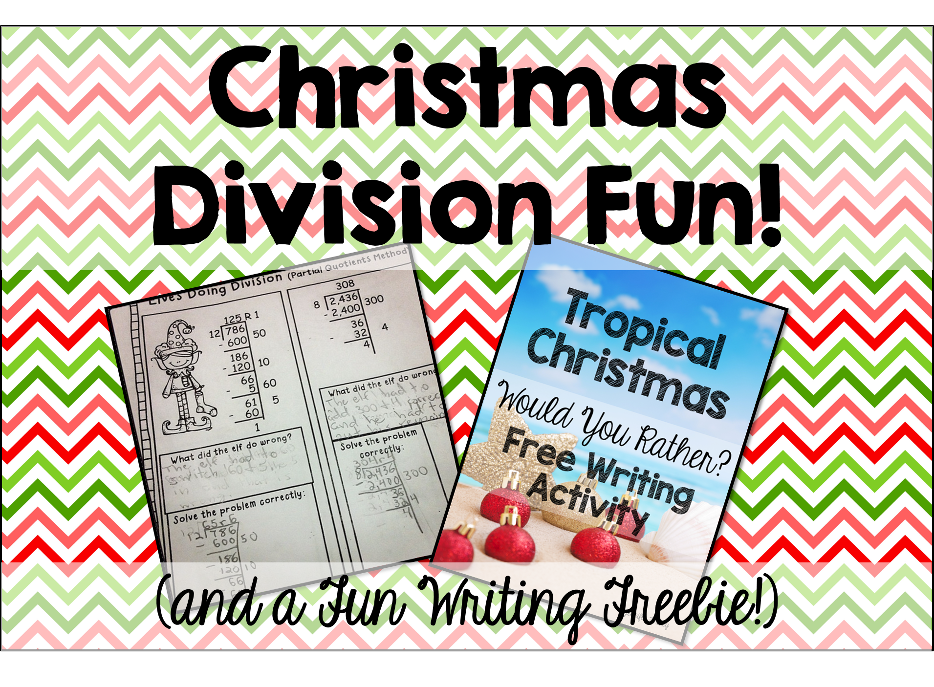 Division Fun and a Tropical Christmas Freebie Teaching to – Long Division Fun Worksheets