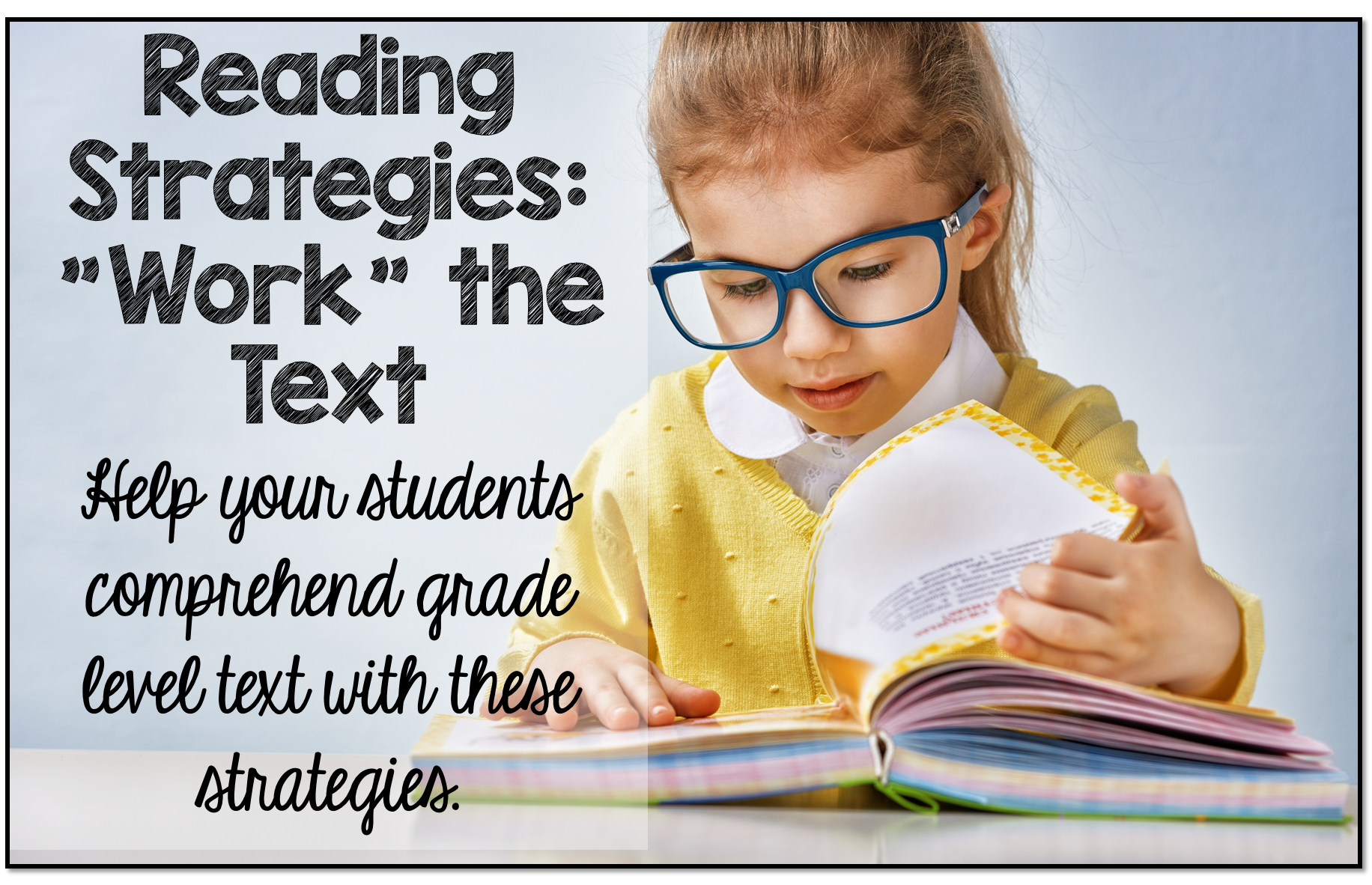 teaching reading strategies Reading comprehension strategies for english language learners lydia breiseth comprehension is the goal of reading, but it can be the most difficult skill to master, especially for english language learners (ells).