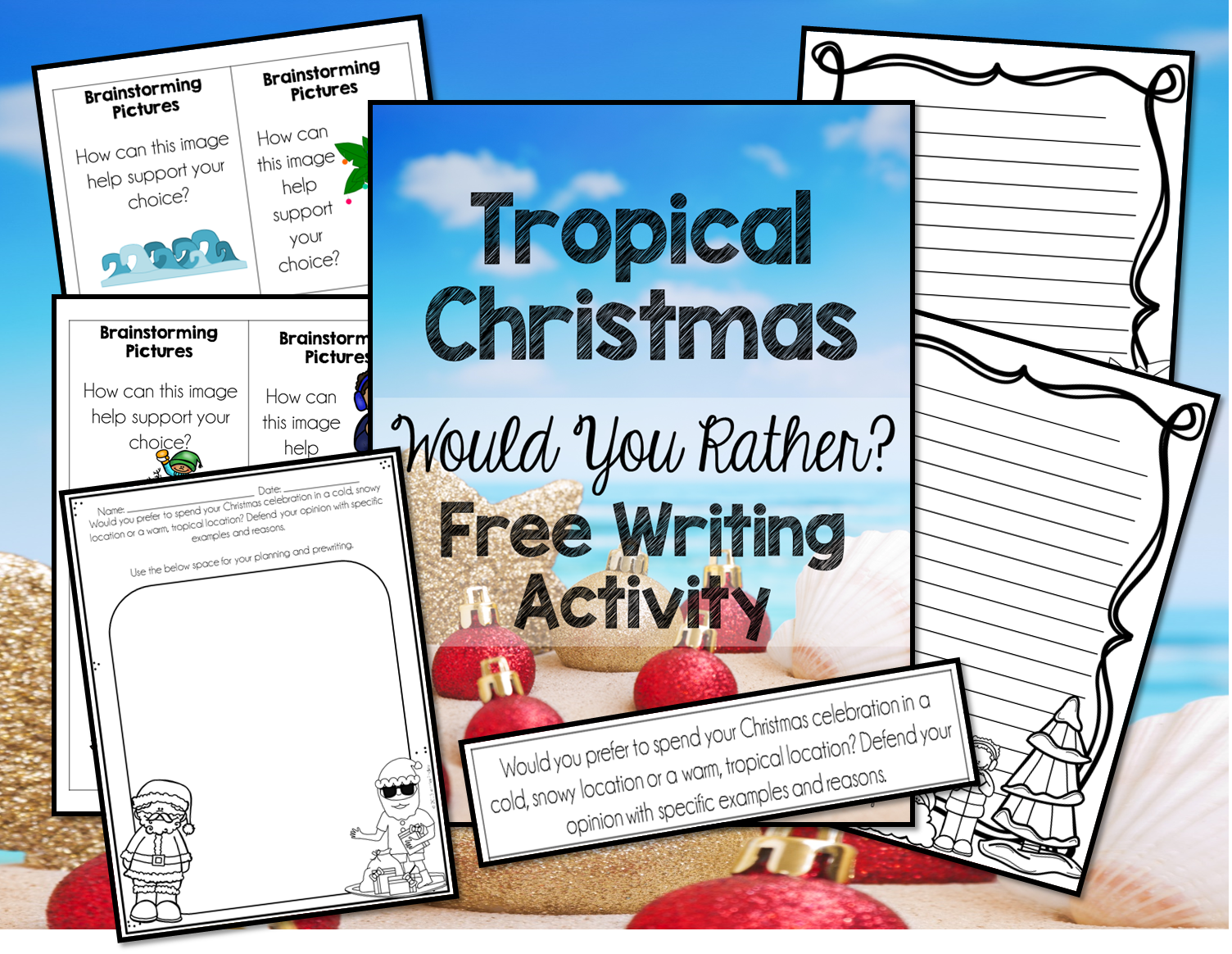 Division Fun and a Tropical Christmas Freebie - Teaching to Inspire ...