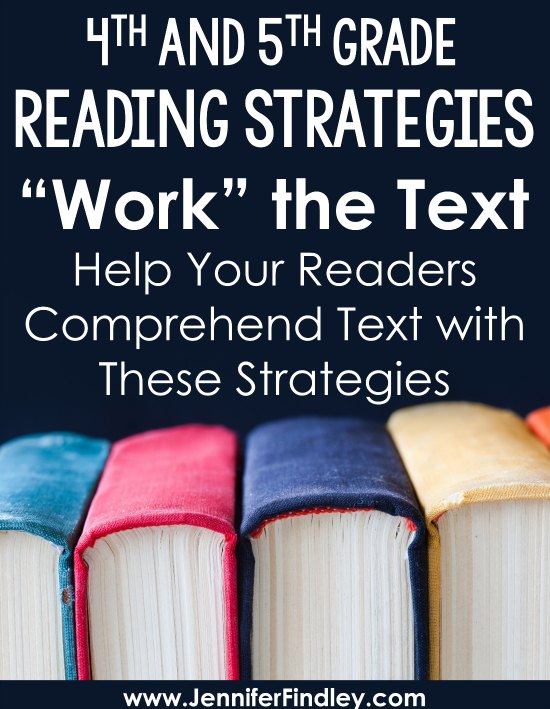 "Teaching these reading strategies that encourage my students to ""work"" the text they are reading have really helped improve my students' comprehension. Read more about these three reading strategies and grab free printables to try these out with your students."