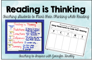 Reading is Thinking: Using Thinkmarks