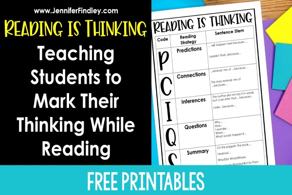 Reading Stems Student Reference Sheet FREEBIE t