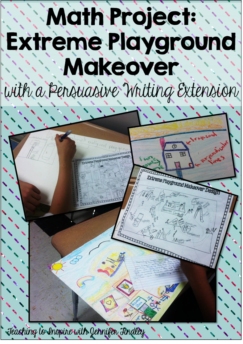 End of the Year Math Projects: Extreme Playground Makeover ...